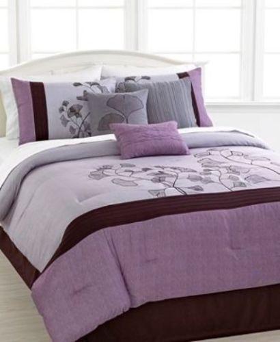 Best Hallmart Collectibles Soft Leaves 6 Piece Queen Comforter 400 x 300