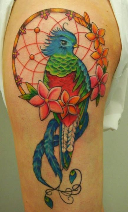 101 best ink images on pinterest for Quetzal bird tattoo