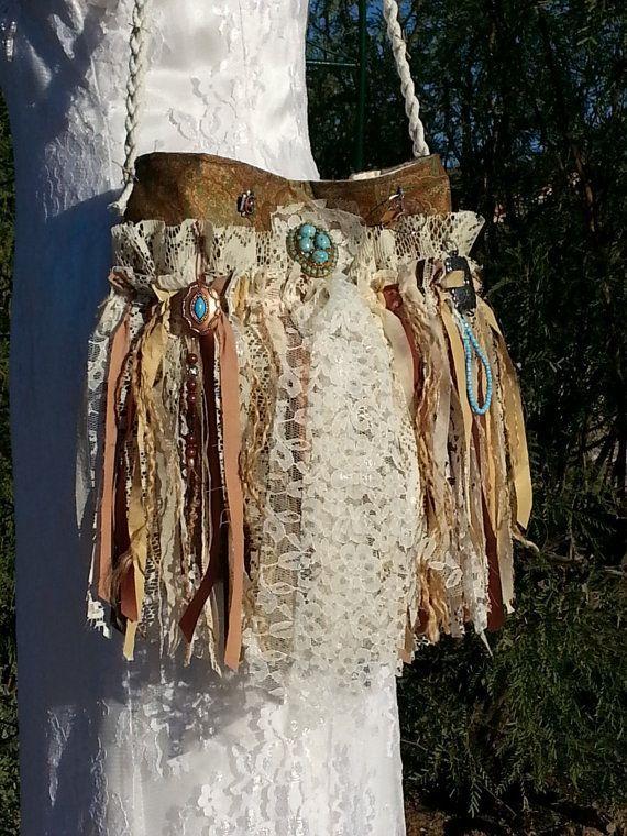 Native American Themed Gypsy Fringe Purse Navajo by Pursuation www.etsy.com/