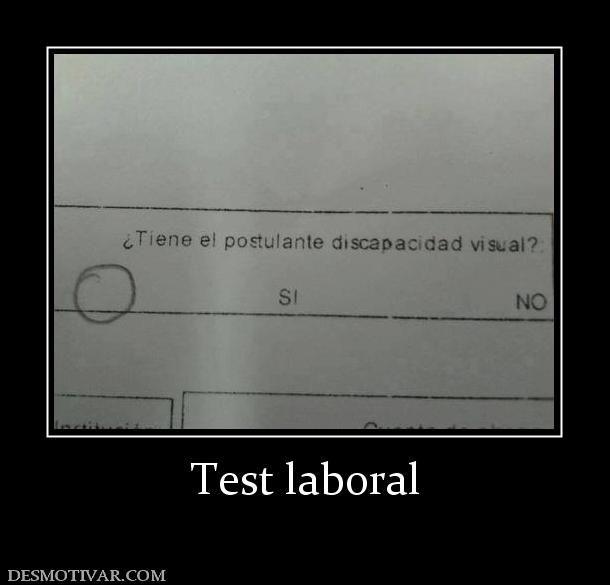 Test+laboral
