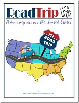 $18 Road Trip USA. Come along with us on an exciting journey learning about the U.S.A! From the signing of the Declaration of Independence, to the wild west, you'll uncover all the secrets this Nation has to offer! Within this curriculum you'll discover the sights and sounds of all 50 states, including state symbols, U.S. Presidents, famous people, landmarks, historical events, and much more!