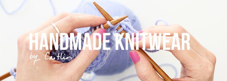 Handmade knitwear Raglan St Wears Australia