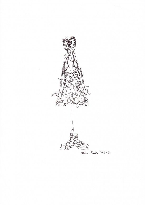 49 best John Rocha in fashion illustration images on Pinterest ...