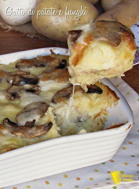 verticale_Gattò di patate e funghi con mozzarella filante ricetta il chicco di mais