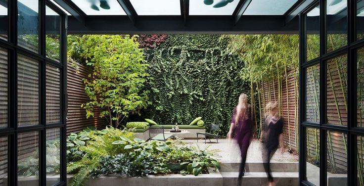 Beautiful Small Urban Gardens | Small Garden Design - Creating Illusions Of More Space | The Garden ...
