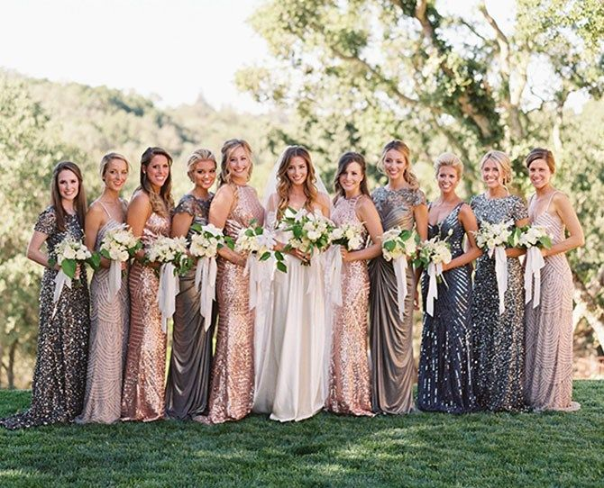 13 Unique Bridesmaid Dress Ideas