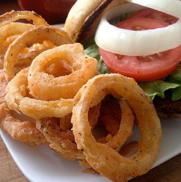 Aros de cebolla   #Receta de cocina   #Vegana - Vegetariana ecoagricultor.com