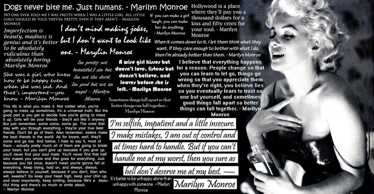 Image detail for -Marilyn Monroe Quotes by ~WeAreBroken28 on deviantART