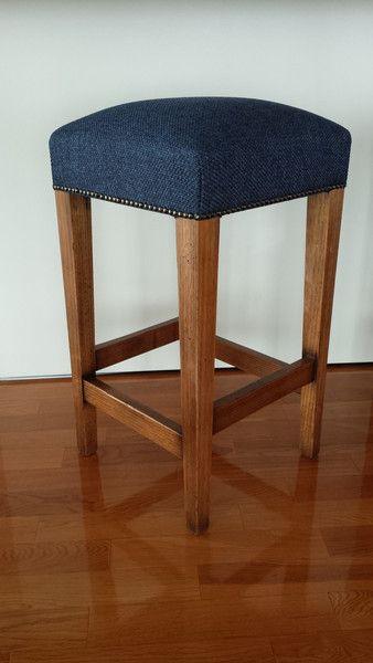 Harry Barstool - Blue #barstool #furniture #custommade #interiordesign