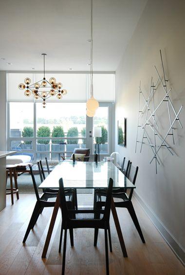 . Nivek Remas . Residential . Dining Room . Dupont Loft . Toronto .