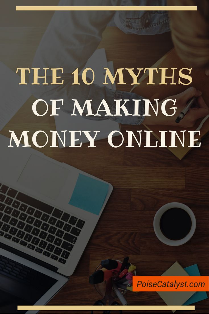 Don't fall for these 10 myths of making money online. Click through to check out the video!