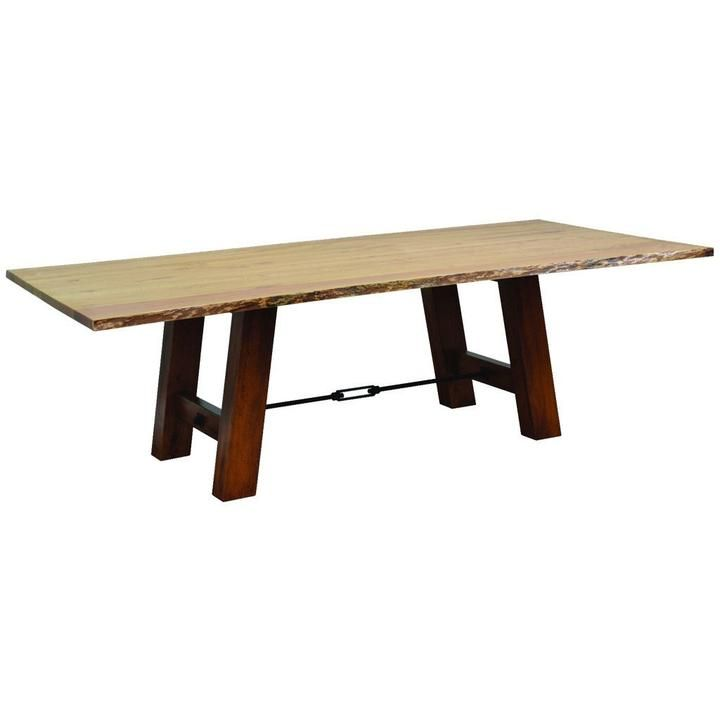 Ouray Trestle Live Edge Table Live Edge Table Table Furniture