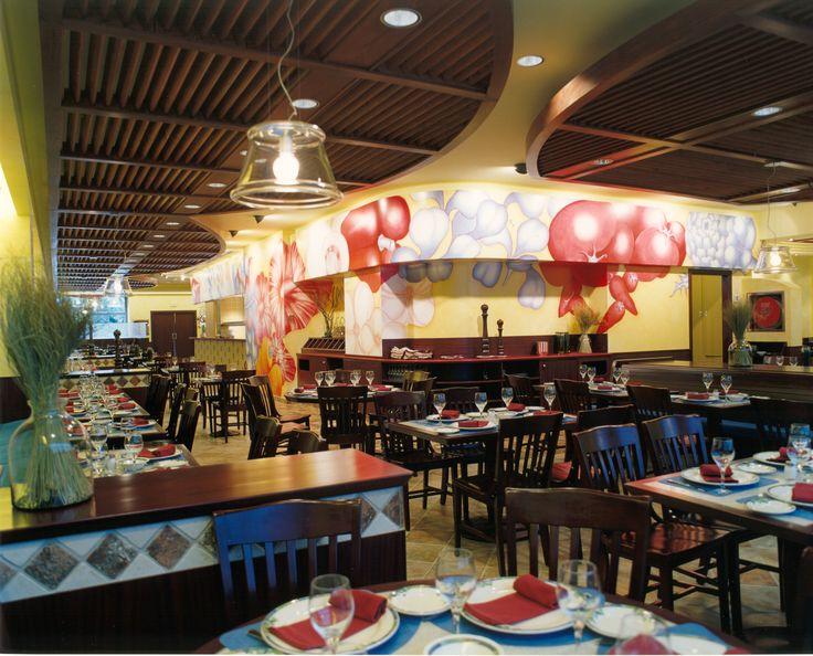 Mostaza Design   Carpaccio   Madrid   Italian Restaurant   Interior design   Illustrations by Astrid J. Freniche #retaildesign #mostazadesign #italian #restaurant  #interiordesign #interiors #retail #murals