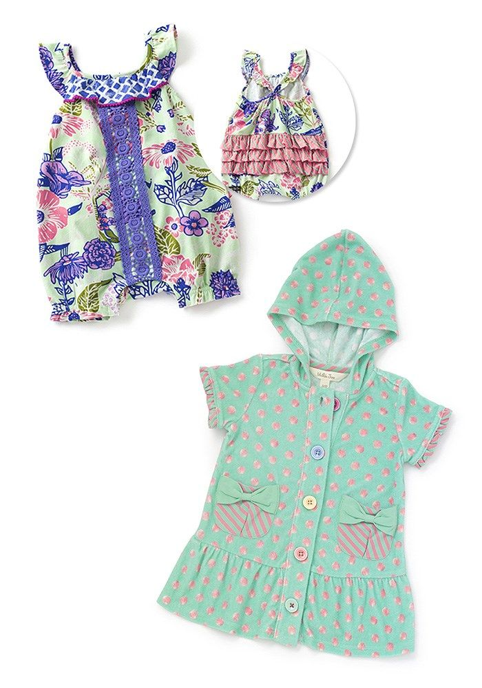 d73498661a86 Baby Bundle - Matilda Jane Clothing - The Baby Bundle features the  Parachute Romper and Miss Mermaid Cover-Up. Individual items in a bundle  are eligible for ...