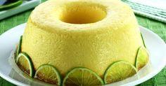 . 1 xícara (chá) de açúcar - . 1 lata de leite condensado - . 4 colheres (sopa) de suco de limão - . 1 e 1/2 xícara (chá) de leite - . 3 ovos - . 2 colheres (sopa) de raspas de limão