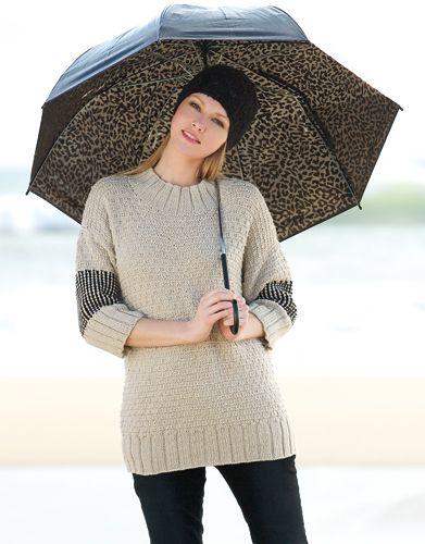 Book Woman Basics 7 Autumn / Winter   22: Woman Sweater   Medium beige / Black