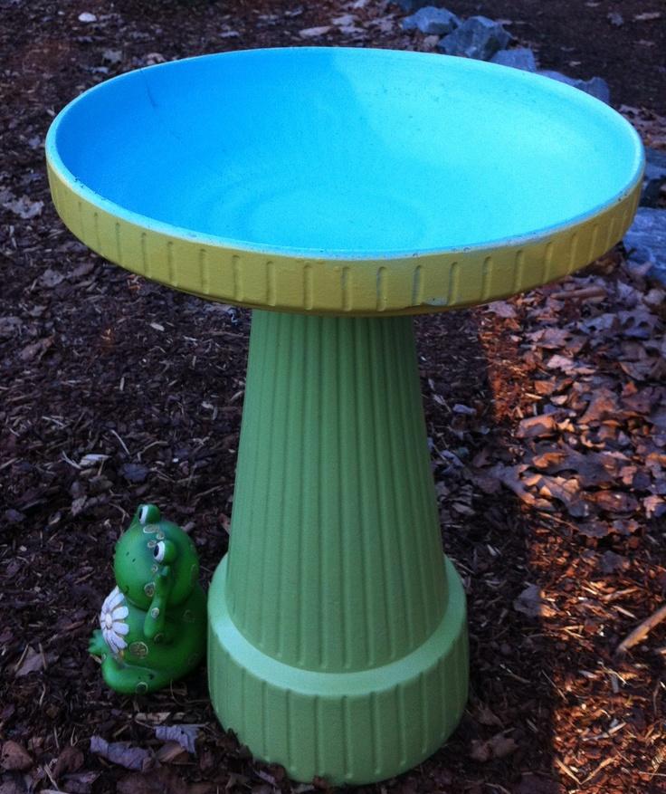 17 Best Ideas About Paint Concrete On Pinterest: 17 Best Images About Bird Baths On Pinterest