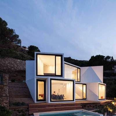 18 mejores im genes sobre casas futuristas en pinterest for Diseno de casa de 9 x 12
