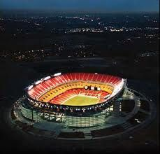 bucket list: see a home game (FedEx Field, Washington Redskins) -- I was at a preseason game, but that doesn't count