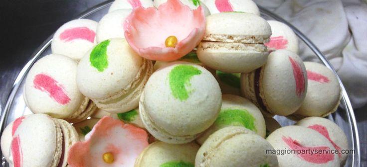 romantici macarons per matrimoni ed eventi   Maggioni Party Service