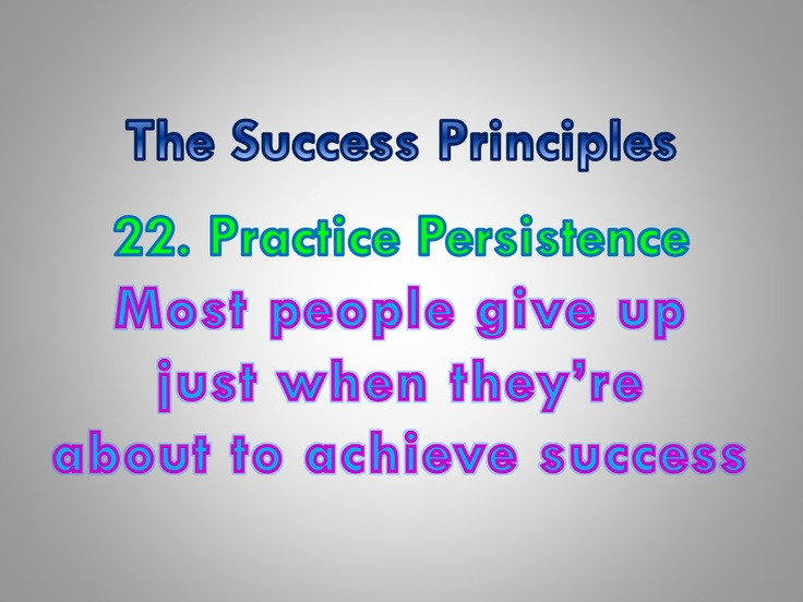 The Success Principlestm How To Get From Where You Are