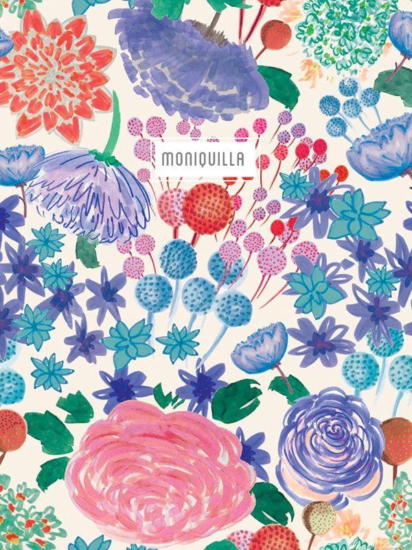 Pattern Design · Moniquilla