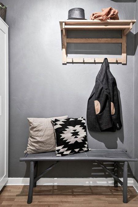 Mieszkanie skandynawskie w szarościach - SPOKOJNE, PRZYTULNE I HARMONIJNE. BIJE…