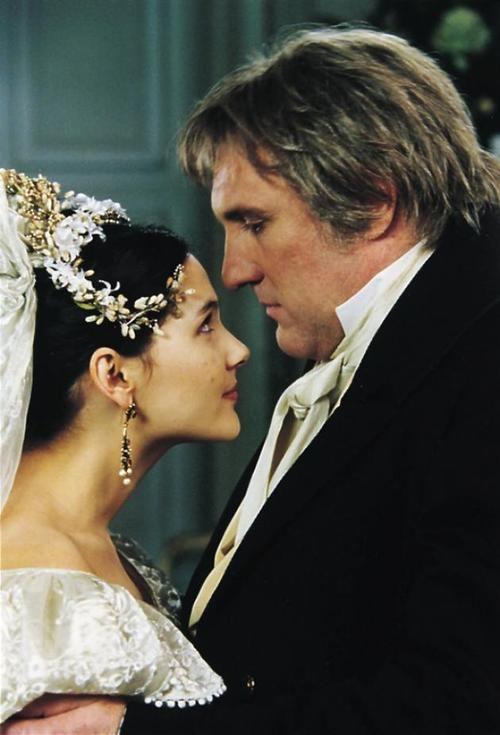 Gerard Depardieu and Virginie Ledoyen (2000 miniseries)