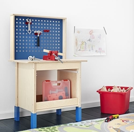 Mala Ikea Kok Duktig : Gifts for Kids  DUKTIG work bench  Because of feet that adjust to
