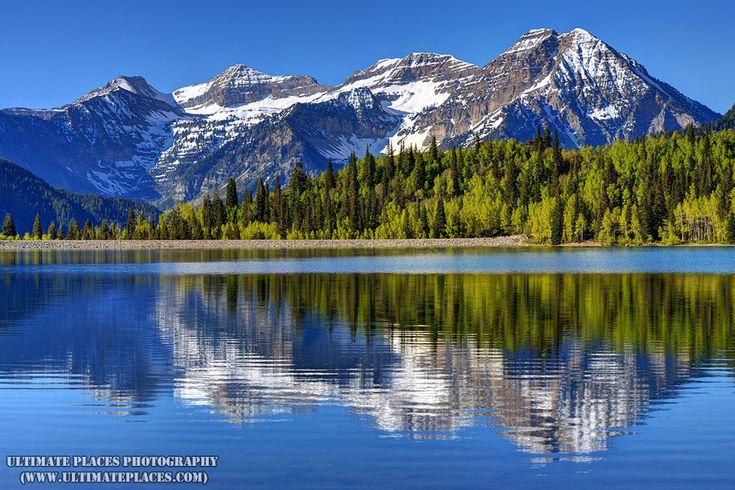 Silver Flat Lake in Spring  Wasatch Mountains  Utah [OC] [1000667] #reddit