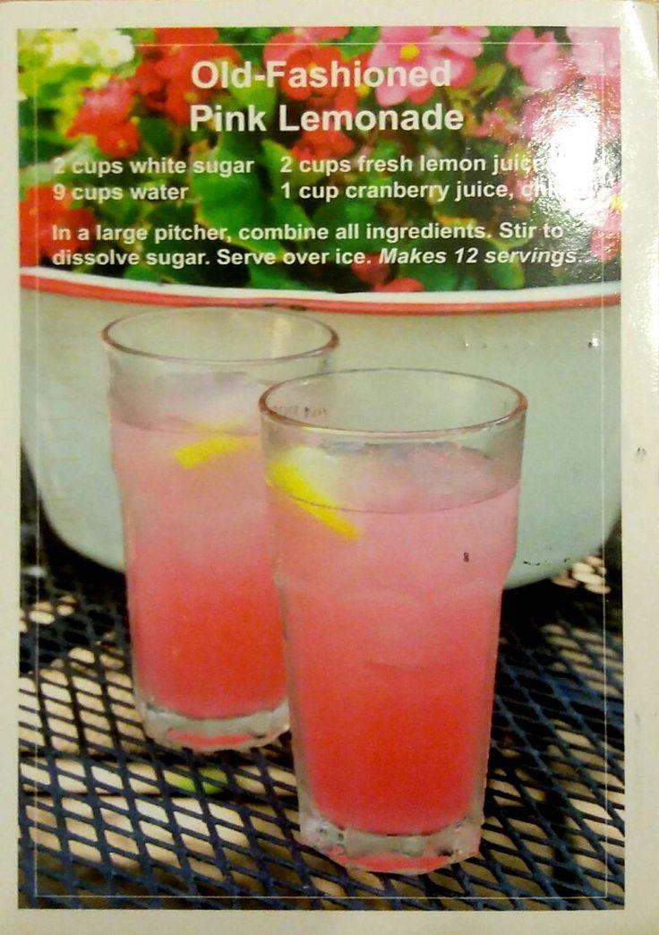 Old-Fashioned Pink Lemonade