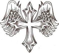 kruis tattoo design - Google zoeken