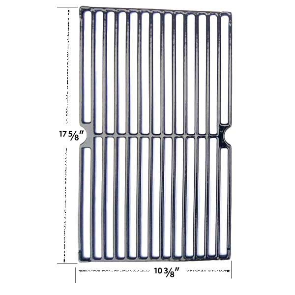 PORCELAIN CAST IRON COOKING GRATES FOR GRILL KING, BACKYARD CLASSIC GR3055-014684 & AMANA AM33LP-P GAS GRILL MODELS  Fits Grill King Models: 810-9325-0  BUY NOW @ http://grillpartsgallery.com/shopexd.asp?id=36034&sid=15793