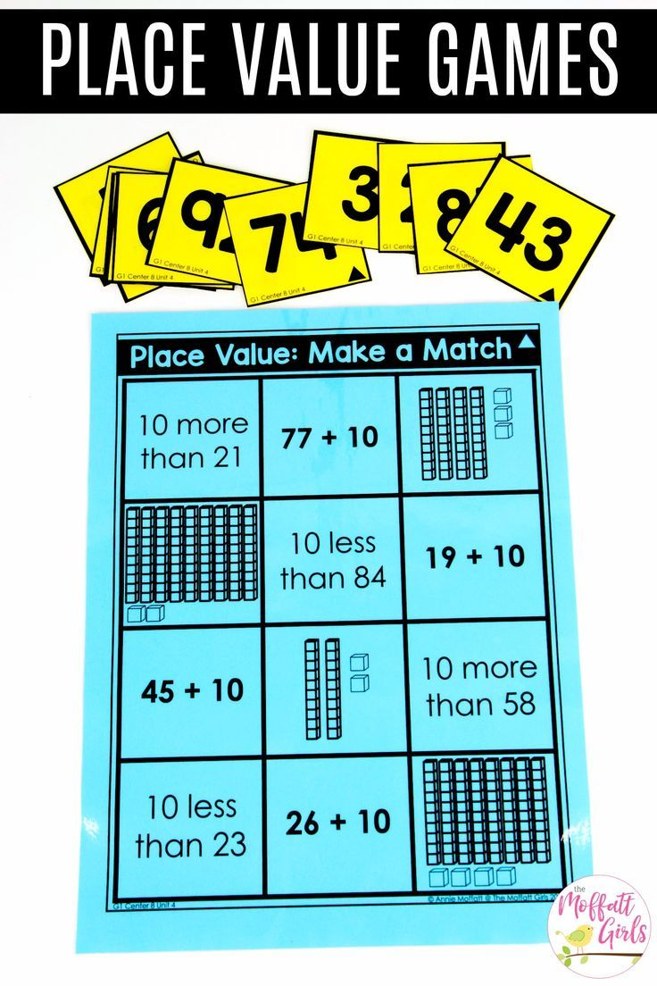 112 best Math Tubs - Place Value and Base Ten Blocks images on ...