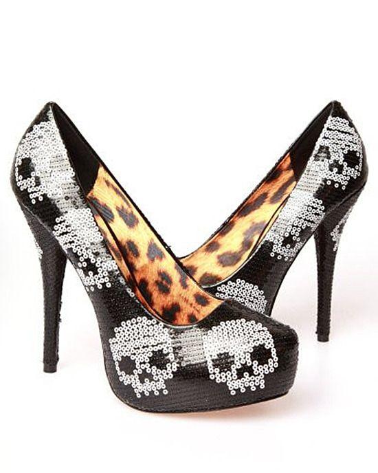 Dressed to Kill: 14 Halloween Heels to Die for! - Fancy Skulls