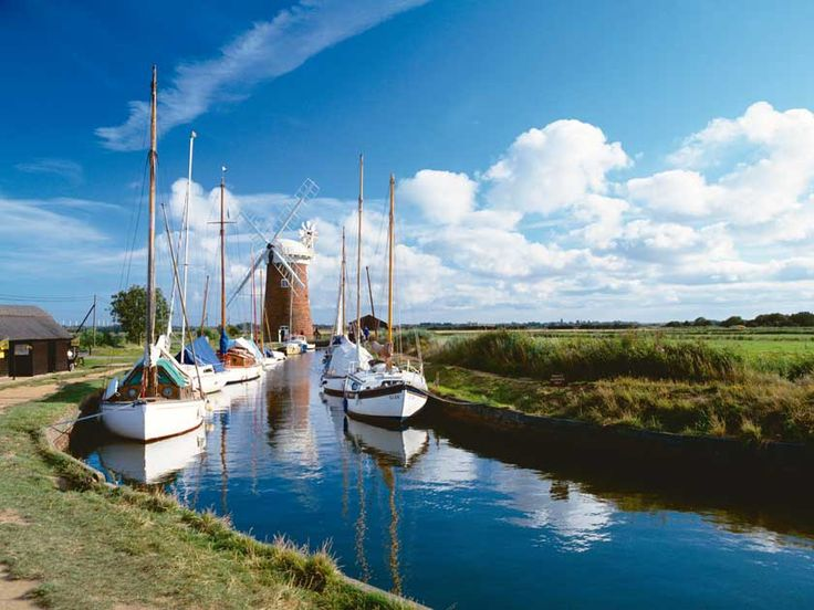 All abroad! Holiday fun in a Norfolk Broads boat