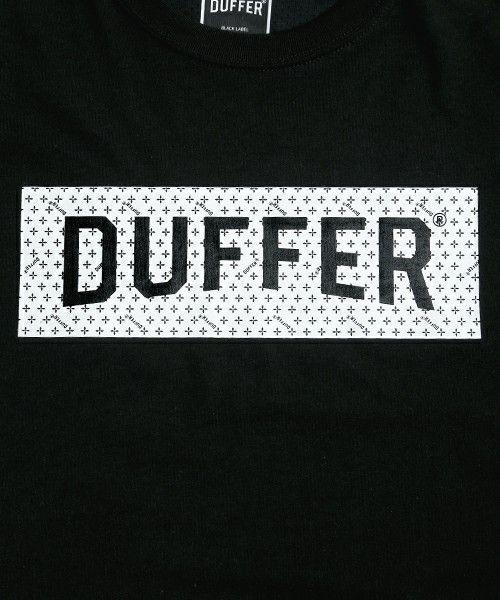 The DUFFER of St.GEORGE(ザダファーオブセントジョージ)の〔BLACK LABEL〕 BOX LOGO L/S SPORTS TEE:ロゴロンT(Tシャツ/カットソー)|詳細画像