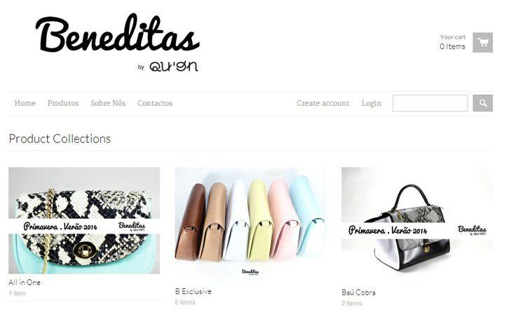 Site : http://beneditas.myshopify.com/