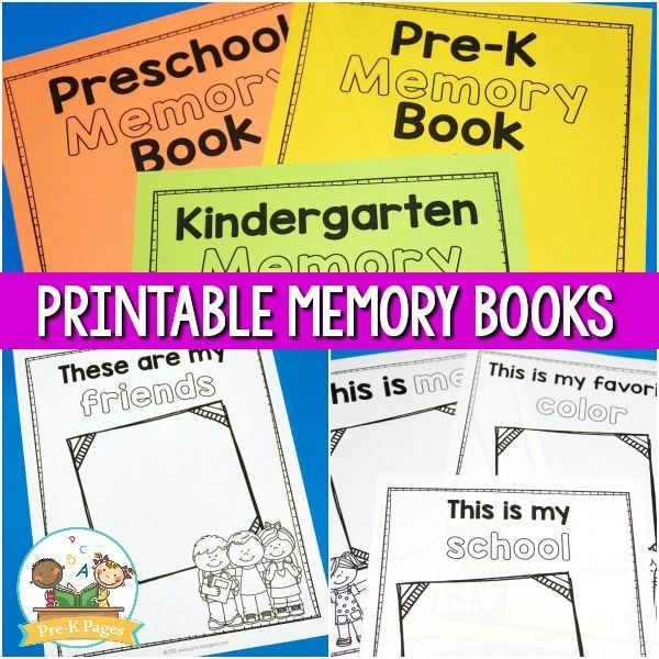 picture relating to Preschool Memory Book Printable identified as Preschool Memory E book Printable for the Stop of Calendar year Pre-k