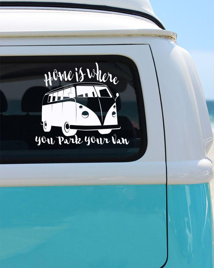 Van Vinyl Window Decal
