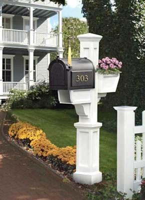 Cape Cod Mailbox Mailboxes Pinterest Flower So Cute