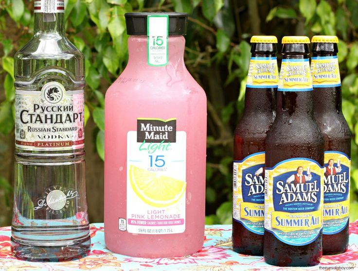 Summer Beer recipe Ingredients drink cocktail