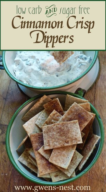 Low carb Cinnamon Dippers are so yummy, and perfect for keeping your holiday appetizers low carb and your waistline trim.  It's also the answer to Kathryn's request for a good alternative to enjoying this low carb cookie dough dip recipe.  The Cinnamon Dippers are a Fuel Pull on the Trim Healthy Mama plan, which means that you can enjoy a nice stash of these with S, E, or Fuel Pull toppings.  How's that for versatile!  And my very favorite part is how easy these are to make.