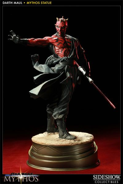 Darth Maul - Mythos Polystone Statue - Sideshow Collectibles - SideshowCollectibles.com