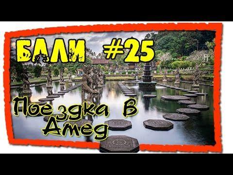 Бали #26 Поездка в Амед Дорец Тирта Гангана Снорклинг Музей ракушек Trip...