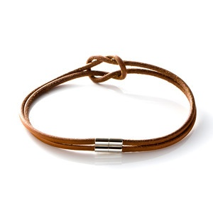 Hermu00e8s Leather Choker