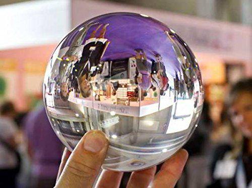 Bola de Cristal de Bohemia - 40 a 200 mm. Puedes conseguirla en http://adivinacion.esoterik-a.com/producto/bola-cristal-bohemia-40-200/