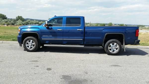 2015 GMC SIERRA HD DENALI 3500 (Williston) $53000: < image 1 of 9 > 2015 GMC SIERRA HD DENALI condition: like newcylinders: 8…