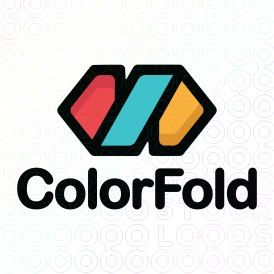 Exclusive Customizable Logo For Sale: Color Fold | StockLogos.com https://stocklogos.com/logo/color-fold