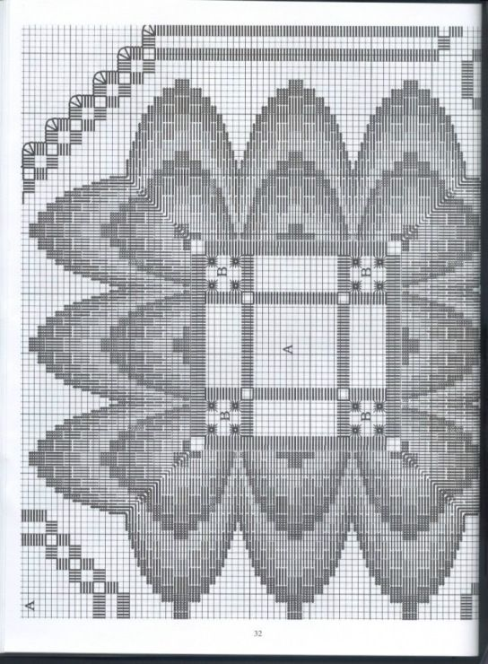#61 - Хардангер -скатерти,